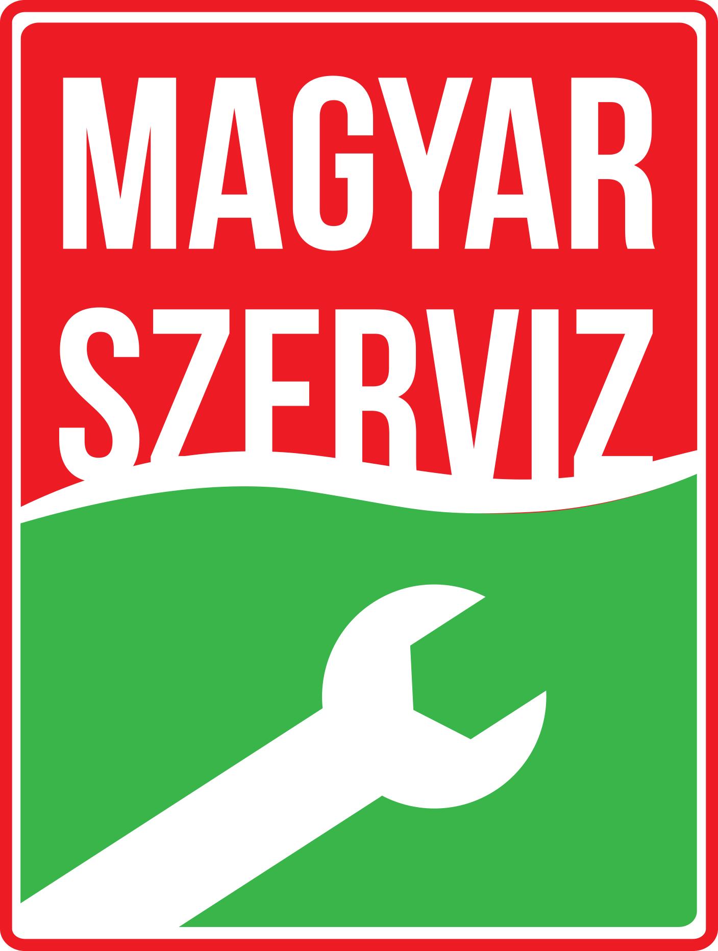 magyar szerviz logo